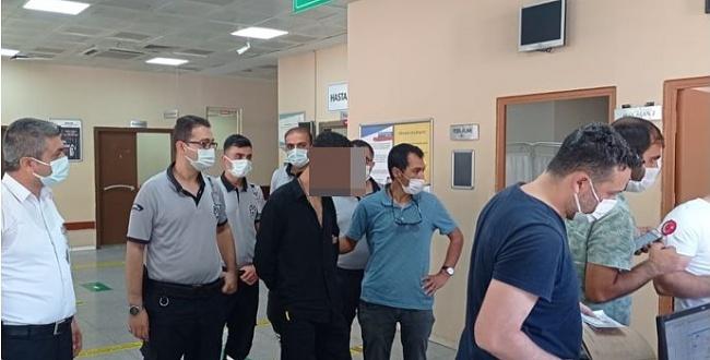 Şanlıurfa'daki Hastane hırsızları yakalandı