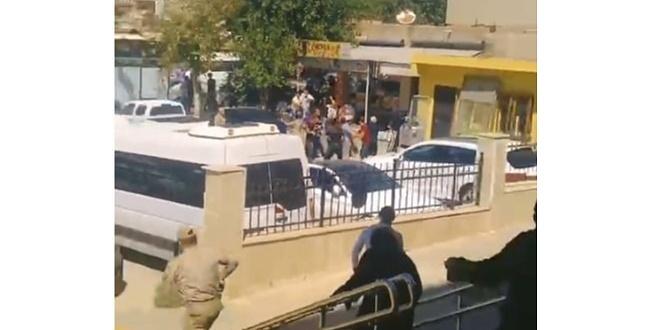 Siverek Adliyesi önünde iki grup arasında kavga çıktı