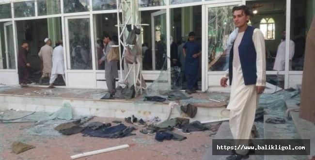 Afganistan'da camiye bombalı saldırı! Çok sayıda ölü ve yaralı var