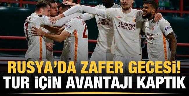 Galatasaray deplasmanda Rus Rakibi Lokomotiv Moskova'yı 1-0 yendi