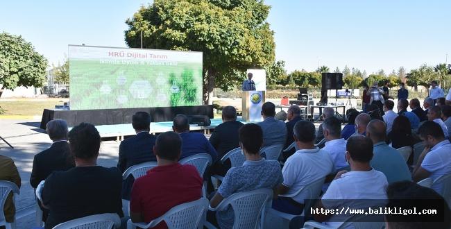 GAP Bölgesinde çiftçi dijital tarımla buluştu