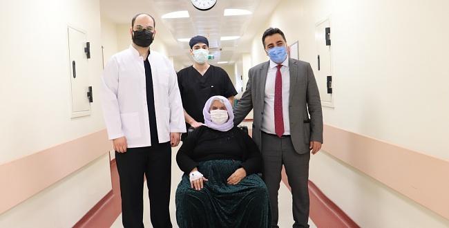 Iraklı Hastan Harran Üniversitesi Hastanesinde Şifa Buldu