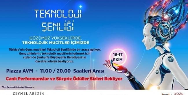 Urfa'da Genç Mucitler Teknoloji Şenliğinde Buluşacak