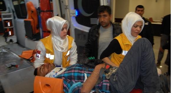 Osman bey kavşında hız kazası: 3 Yaralı