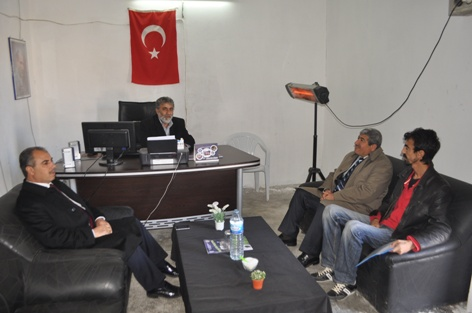 AK Partiden Eyyübiye ve Esentepe Muhtarlarına Ziyaret