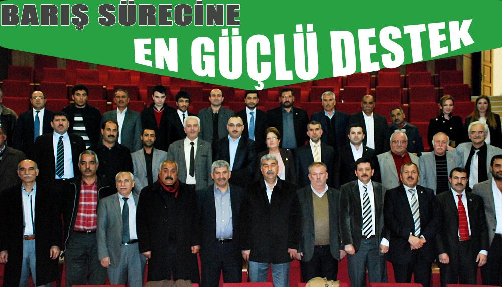Urfa'da 32 STK'dan Ortak Açıklama