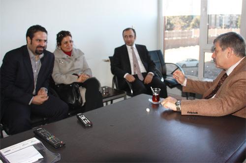 ÇHD'li avukatlardan Karataş'a ziyaret
