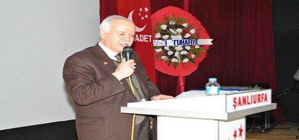 Şevket Kazan Şanlıurfa'da hükumete yüklendi VİDEO