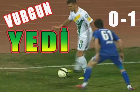 Şanlıurfaspor, Gaziantep Büyükşehir Belediyespor'a yenildi 0-1