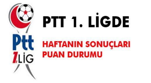 PTT 1. Lig'de 25. haftanın görünümü ve puan durumu