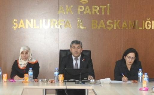 AR – GE Toplantısında Anayasa konuşuldu