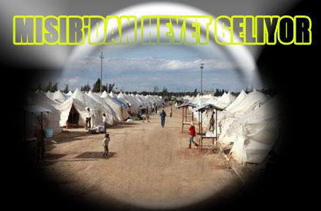 Suriyeli Mülteciler İçin Mısır'dan Heyet Geliyor