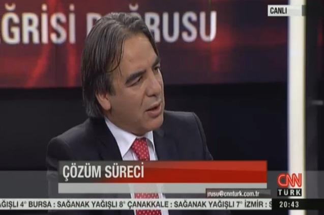 Prof. Bağlı CNN Türk'te Barış sürecini değerlendirdi