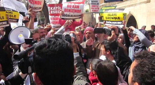 Urfa STK'lardan Suriye muhaliflerine kritik destek
