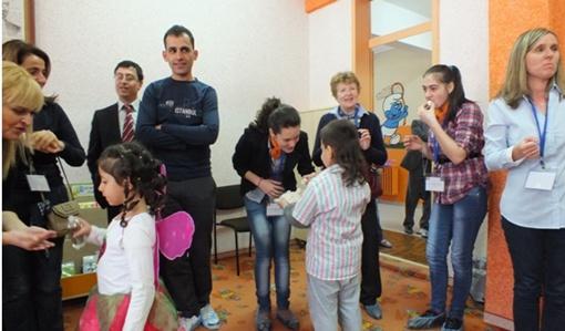 Yunus Emre İMKB Avrupalı Eğitimcileri Ağırladı