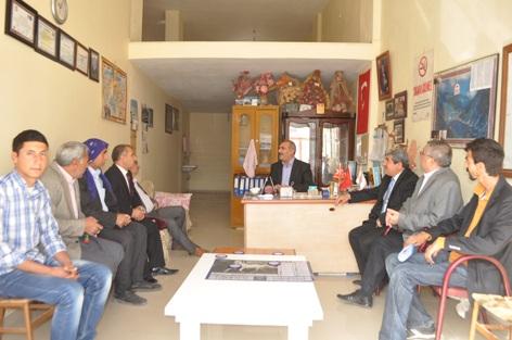 AK Partiden Hayati Harrani ve Hamidiye Muhtarlarına Ziyaret