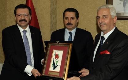 ŞUTSO Başkanı Ertekin'den Bakan Teşekkürü
