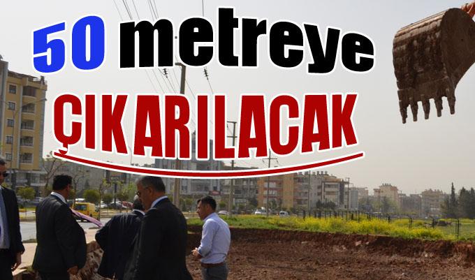 Urfa-Diyarbakır Yolunda Genişletme Çalışması