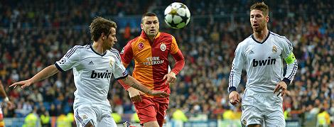Real Madrid 3 - 0 Galatasaray