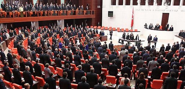 Milletvekili sayısı yeniden düzenlendi