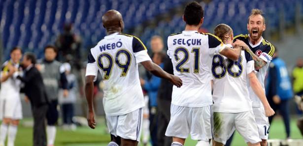 Fenerbahçe, Lazio ile 1-1 berabere kalarak turu geçti