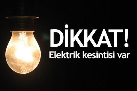 Viranşehir elektriksiz kalacak