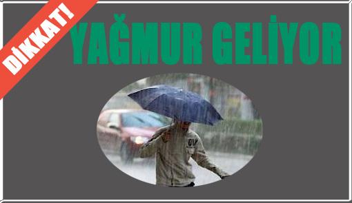Urfa'da 5 Gün Etkili Yağış Var!