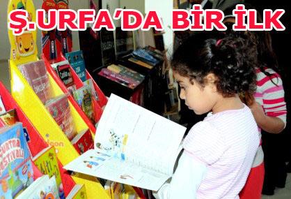 Şanlıurfa'da ilk kez kitap fuarı düzenlendi