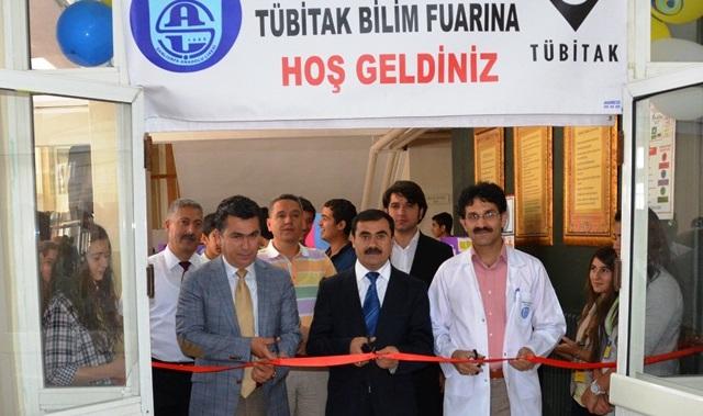 Şanlıurfa Anadolu Lisesi TÜBİTAK Bilim Fuarı Açıldı