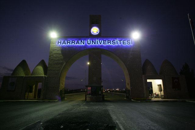 Harran Üniversitesinde tehlikeli kavga