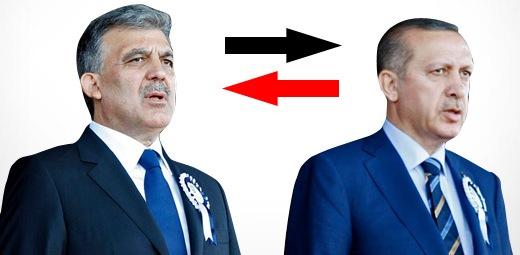 Erdoğan ile Abdullah Gül yer mi değiştirecek ?