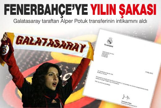 Galatasaray'dan Fenerbahçe'ye yılın şakası