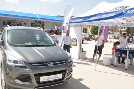 Ford Show Etkinlikleri Urfa'da Show yaptı VİDEO