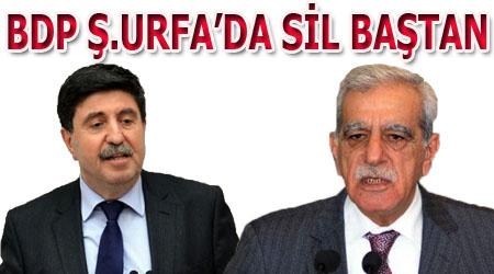 BDP Şanlıurfa'da Altan Tan ve Ahmet Türk sürprizi