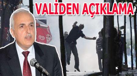 Valilikten Gezi Parkı olaylarıyla ilgili açıklama
