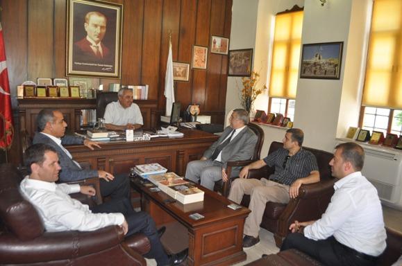 AK Partiden Kültür ve Nüfus Müdürlüğüne ziyaret