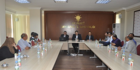 AK Partide twiter toplantısı