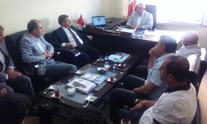 Yahya Akman'dan TÜMSİAD ve MÜSİAD'a ziyaret
