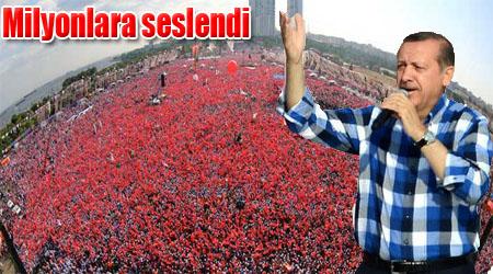 Erdoğan, Kazlıçeşme'de milyonlara seslendi