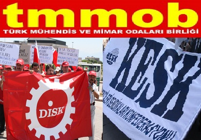 DİSK - KESK - TMMOB'ten polisi hedef alan açıklama