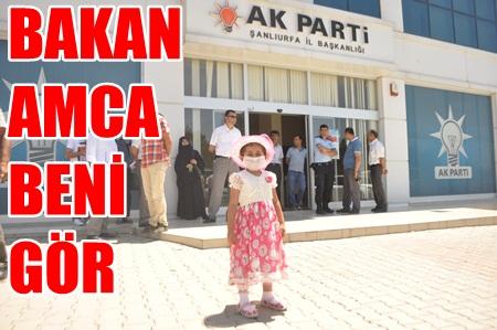 Lösemililer AK Parti önünde Sağlık Bakanına seslendiler VİDEO