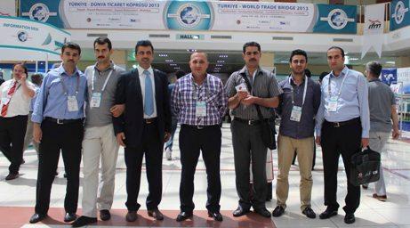 Türkiye-Dünya Ticaret Köprüsü Urfa damgası