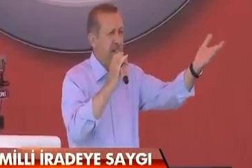 Erdoğan, Erzurum'da tuzak uyarısı yaptı VİDEO