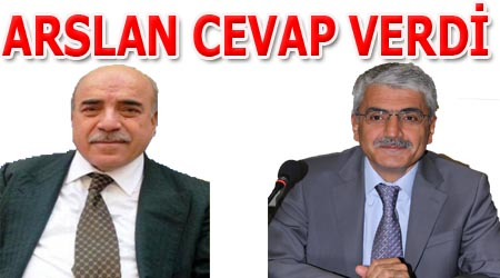 Eski Başkan Bahçıvan'a Arslan'dan Yanıt