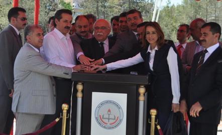 Bakan Çelik ve Avcı Şanlıurfa'da 130 okulun temeli attı VİDEO