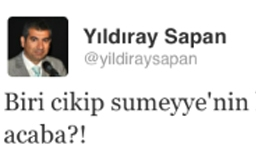 CHP'li vekilden Erdoğan'ın kızı için edepsiz 'twit'
