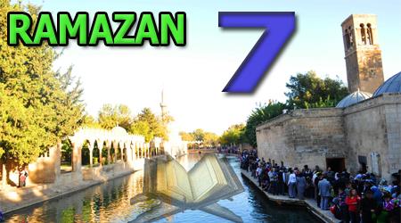 Ramazan sayfası, Kur'anı Kerim 7. Cüz