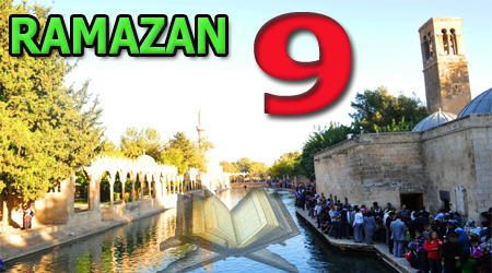 Ramazan sayfası, Kur'anı Kerim 9.Cüz