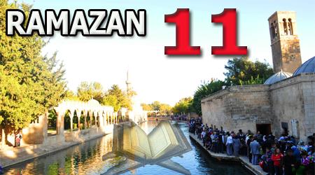 Ramazan sayfası, Kur'anı Kerim 11.Cüz