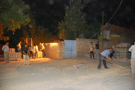 Hilvan Belediyesi Gece Gündüz Çalışıyor